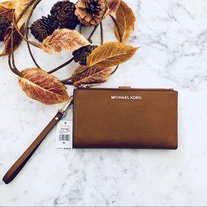 Michael Kors Zip Travel Wallet