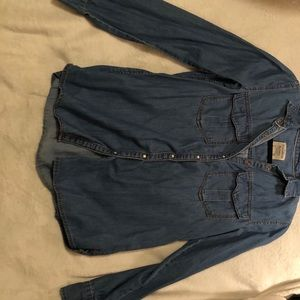 Pull & Bear Jean shirt.
