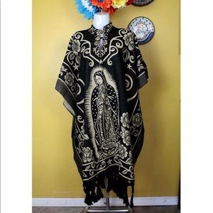 AVAILABLE! Our Lady of Guadalupe Woven Poncho