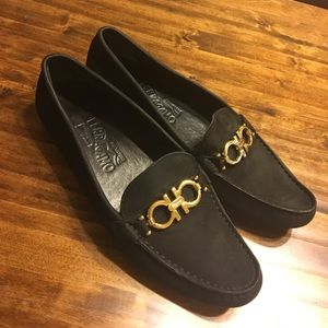 Salvatore Ferragamo Driving Loafers
