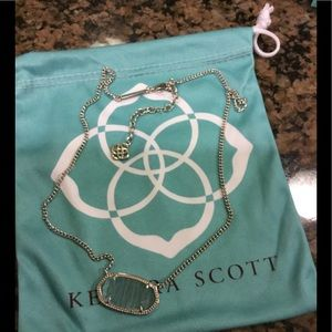 Kendra Scott Blue Dylan Necklace