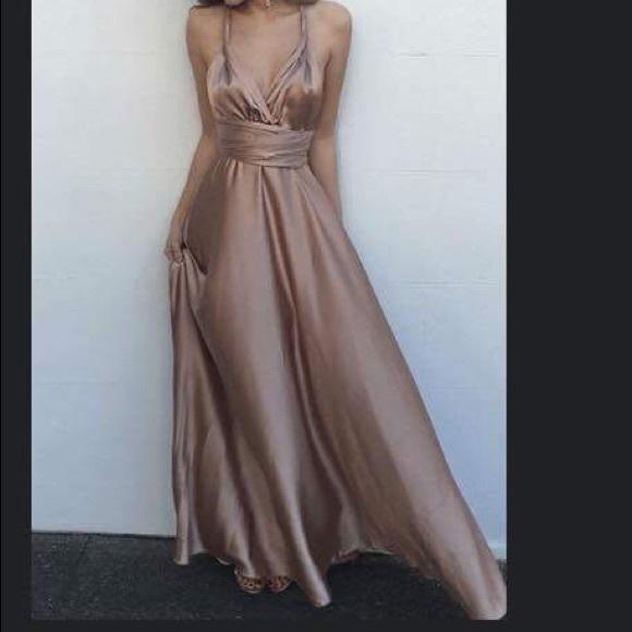 b53d5c03a5d23 Dresses   Fancy Satin Dress   Poshmark