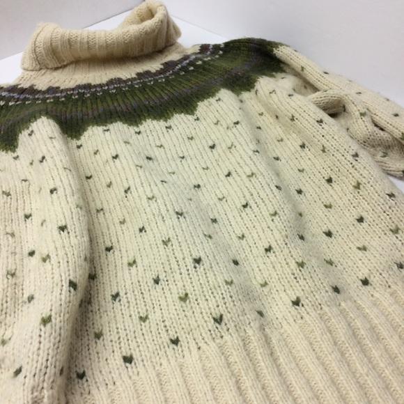 67% off J. Crew Sweaters - J. Crew Vintage Fair Isle Turtleneck ...
