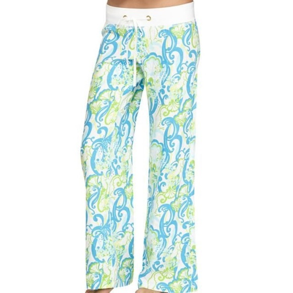 97bf800b50 Lilly Pulitzer Pants - Lilly Pulitzer Linen Beach Pant XS Crystal Coast