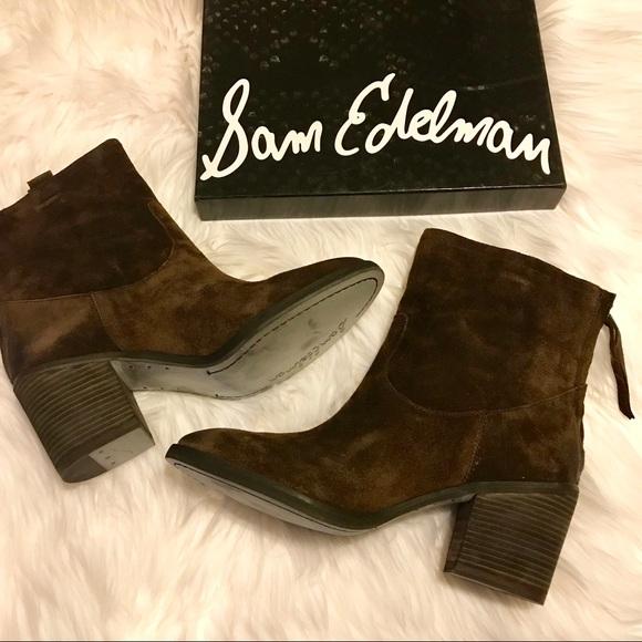 f3e149f44b53 New Sam Edelman Farrell suede boots