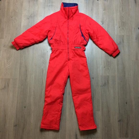 d28064f99 Anzi Besson Jackets & Blazers - 80s ITALY Anzi Besson One Piece Ski Snowsuit