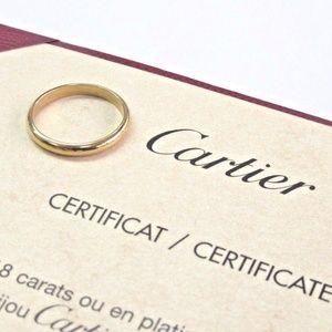 Cartier 18Kt Yellow Gold Classic 2.5mm Wedding Rin