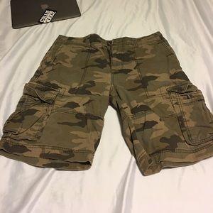 NWOT! Camo cargo shorts. Waist 38! Mossimo brand!