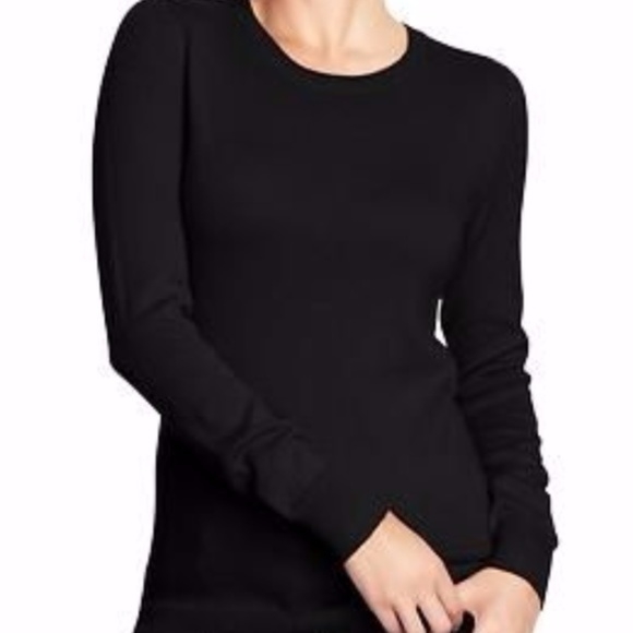 40% off Zara Sweaters - NEW ZARA WOMEN BLACK CREW NECK THIN KNIT ...