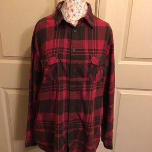 Mossimo Supply Co. red flannel