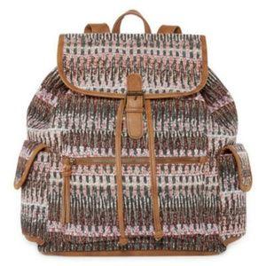NWT Women's Arizona Jean Co. Flap Backpack.