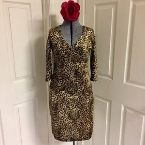 VINTAGE leopard skirt set