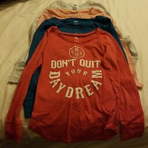 Bundle:Gently Used L-Sleeve Shirts for Girls