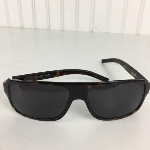 c82e62fe54aa5 Dior Accessories   Homme Black Tie 35s Tortoise Shell Sunglasses ...