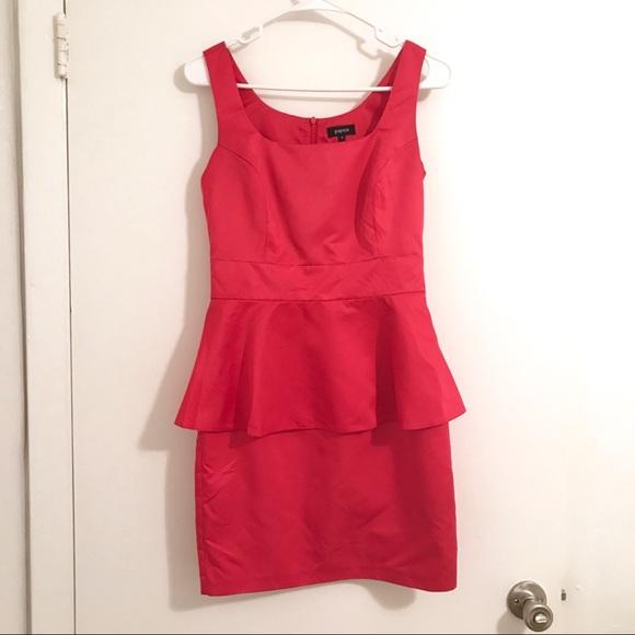 0b47915e4e6 Papaya Sleeveless Peplum Dress in Pink. M 59ff07f35a49d046df0c915c