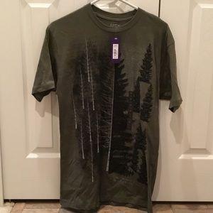 Men's Medium T-shirt hunter green New with tags