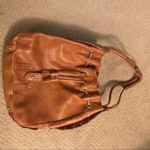 Kenneth Cole Luggage leather Hobo/ Satchel bag