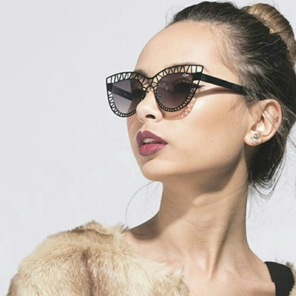 b1ee047d762e1 Quay steelcat black sunglasses. M 59ff1637620ff7fbc20cbccb