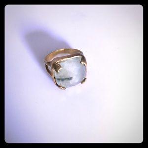 Sage stone ring 😍🤗