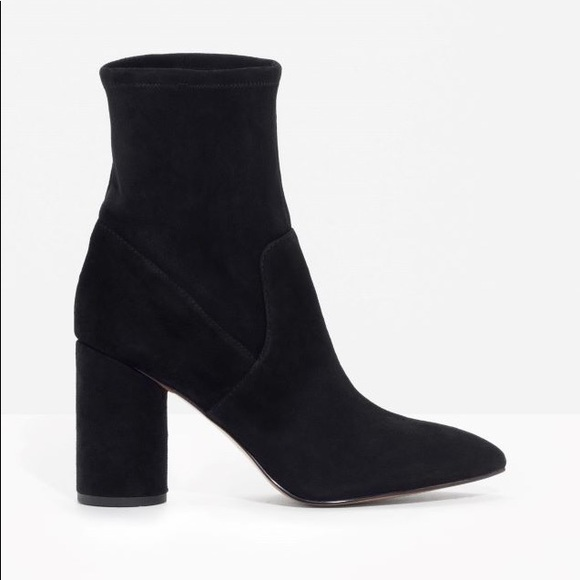 5b1423286 & Other Stories Shoes   Other Stories Suede Sock Boots   Poshmark