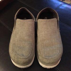 Men's crocs slip on canvas shoe