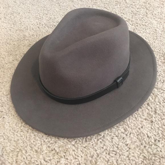e86c6acd6a4bd Brixton Men s Messer Fedora Hat