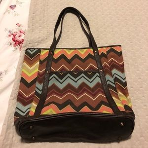 dcb73500f5 M Missoni Turquoise Leather Tote Bag. M 5686ef5d5a49d0a790006741. Other Bags  you may like. Missoni (For Target) Tote