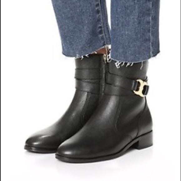 e932edbb5bc Tory burch Gemini link ankle boots size 8.5. M 59ff1fce522b45ed1c0cd737.  Other Shoes ...