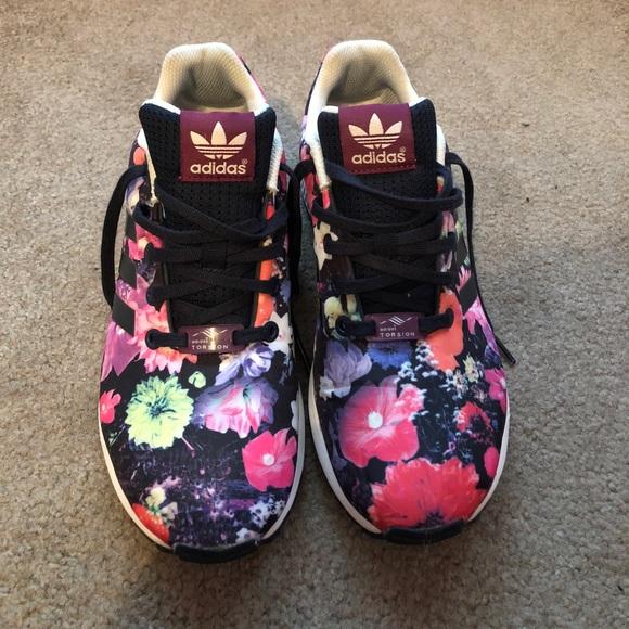 7f11a1e59 adidas Shoes - Floral Adidas Zu Flux