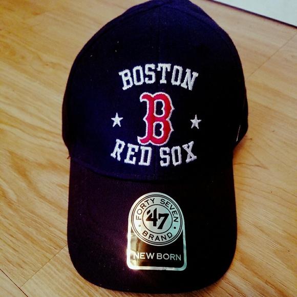 47 Other - NWOT  47 Brand Newborn Boston Red Sox Cap 0b580911319