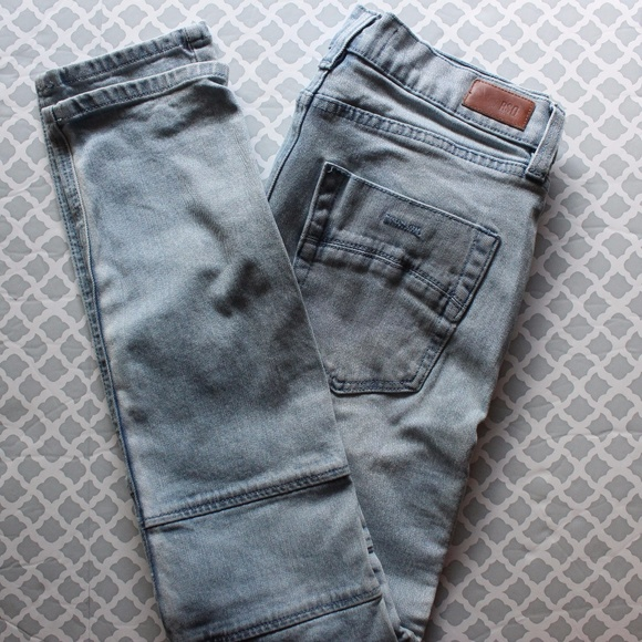 79c7ee979 RSQ Jeans Skinny Tapered Moto Light Wash Jeans. M_59ff27504e95a3c2830cfda1