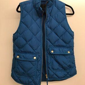 J Crew Blue Vest