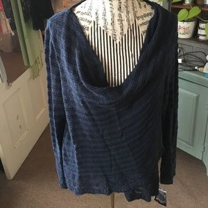 Navy blue layer sweater