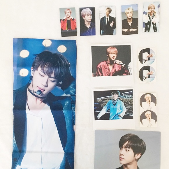 BTS JIN Slogan Set