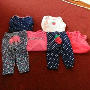 3 Piece Baby Girl Sets