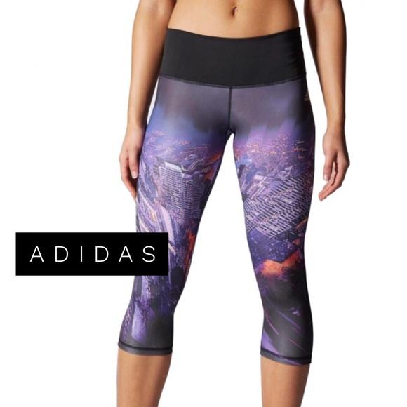 91aa229a5465 adidas Pants - • Mid City Print Leggings •