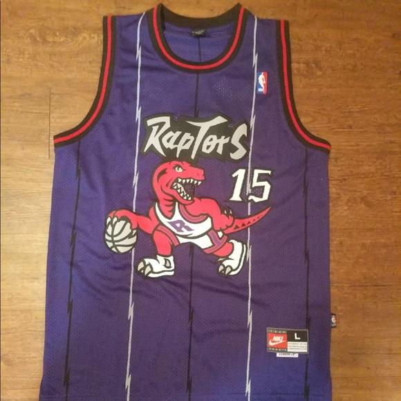 e040b213f30d Toronto Raptors Throwback Vince Carter Jersey L. M 59ff3058291a35820b0d2383
