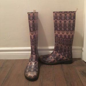 Authentic Missoni Rain Boots Size 38