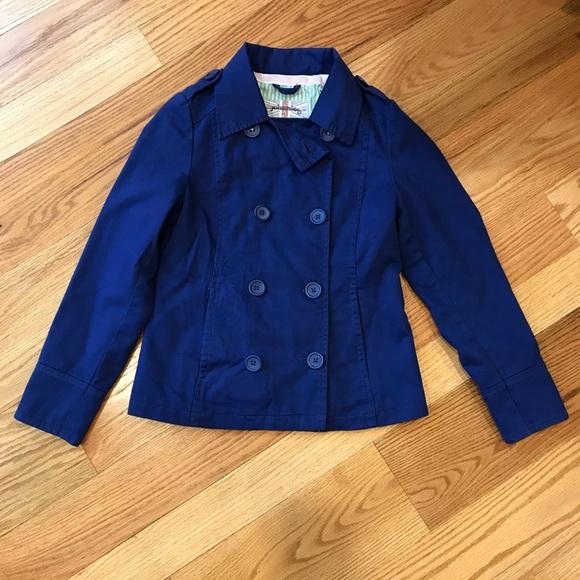 0de450e9b7db Boden Jackets & Coats | Blue Canvas Jacket Johnnie B | Poshmark