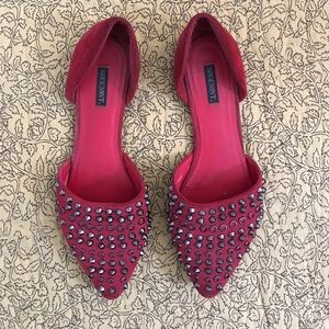 Red d'orsay flats