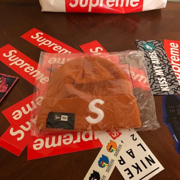 177737f72d1e0 Supreme New Era S Logo Box Logo Beanie