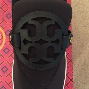 e584465c09329c Tory Burch Shoes - 🆕 Tory Burch Miller neoprene medallion sneakers