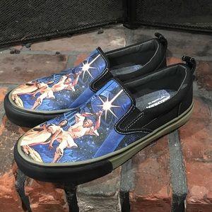 Skechers Star Wars slip on sneakers size 7 1/2