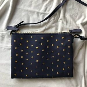 2 FOR $10!!! Navy and gold Old Navy crossbody bag