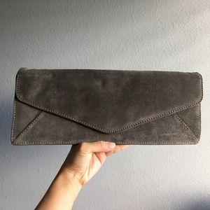 Brand New. ASOS Suede Envelope Clutch