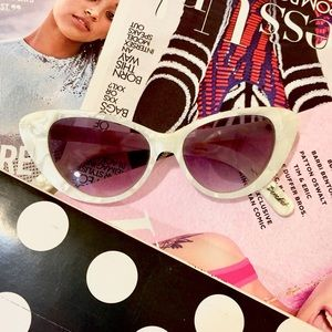 Elizabeth and James Retro Cat Eye Sunglasses