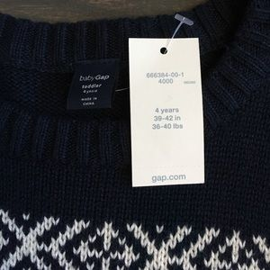 26ebc53159dc2 GAP Shirts & Tops | Kids Navy Blue Boys Sweater Nwt | Poshmark