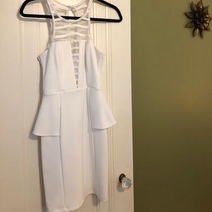 Peplum style dress