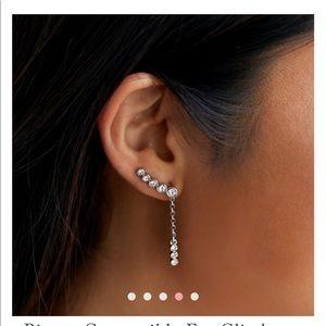 3 way wear earrings