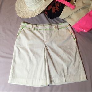 Lilly Pulitzer Palm Beach Fit 10 Shorts Plaid Trim